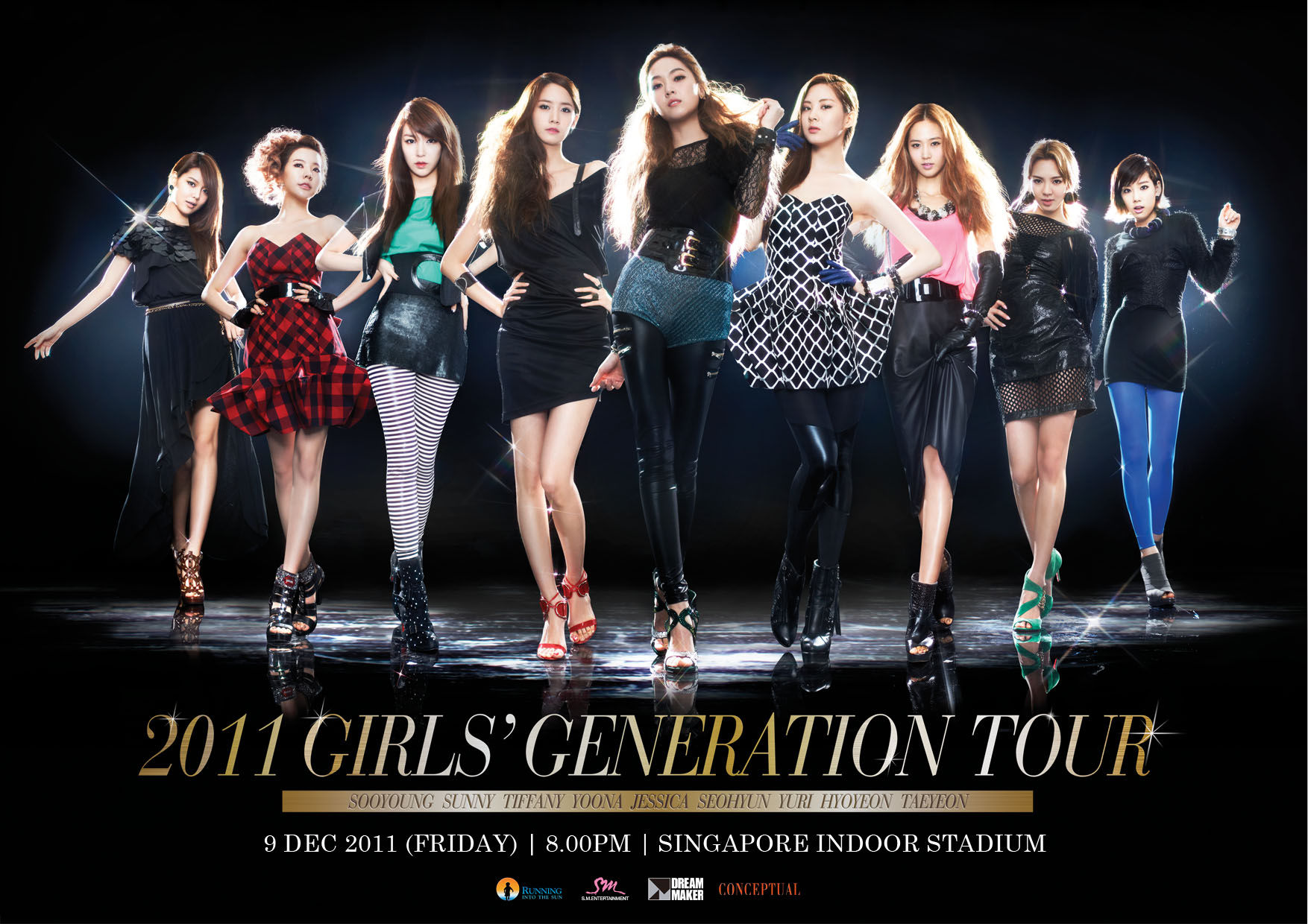 Girls Generation Concert In Singapore Date Out 9 10 Dec