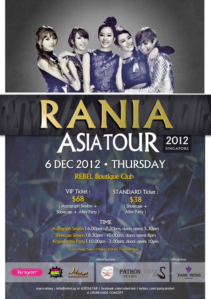 Club Event Krayon Special Edition Featuring Rania This December X Clusive