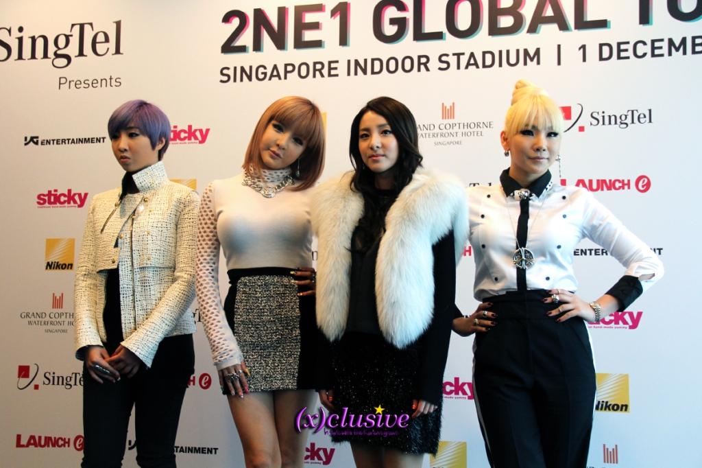 2NE1 New Evolution Concert in SIngapore 2012