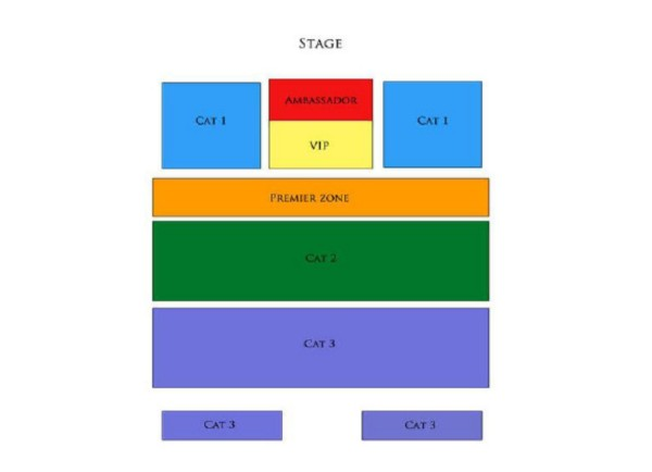 Dalmation in Singapore Showcase Seating Plan