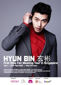 Hyun Bin First Asia Fan Meeting Tour in Singapore