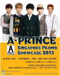 A-Prince Showcase Live in Singapore