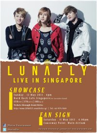 LUNAFLY Showcase Live in Singapore