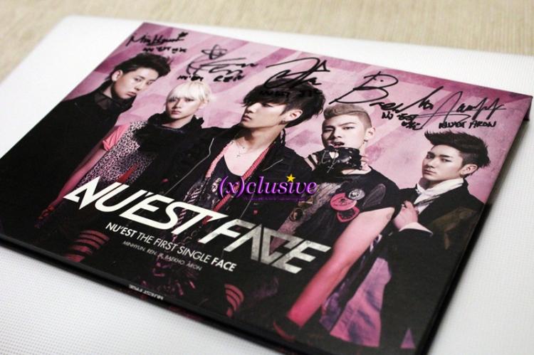 NU'EST Autographed Album