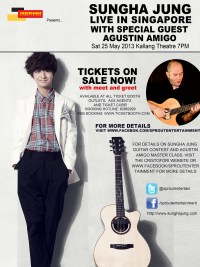 Sungha Jung Live in Singapore (feat. Agustin Amigo)