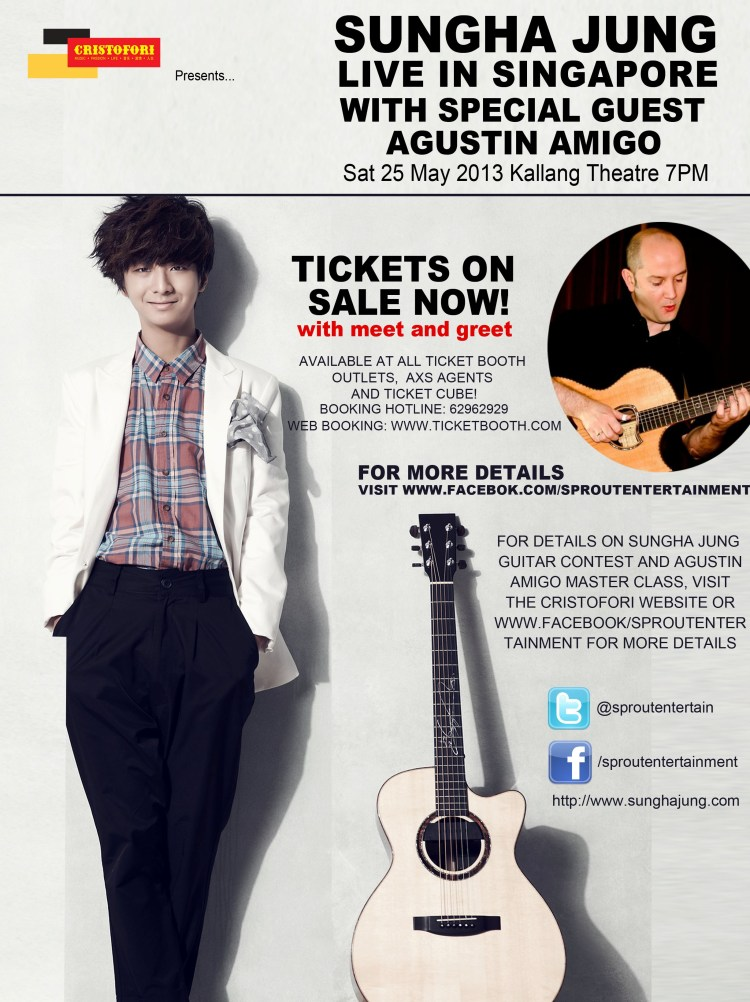 sungha poster