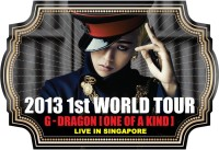 G-Dragon 2013 World Tour 'One of a Kind' in Singapore