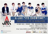 A-JAX 'ITS SHOWTIME' Showcase Live in Singapore