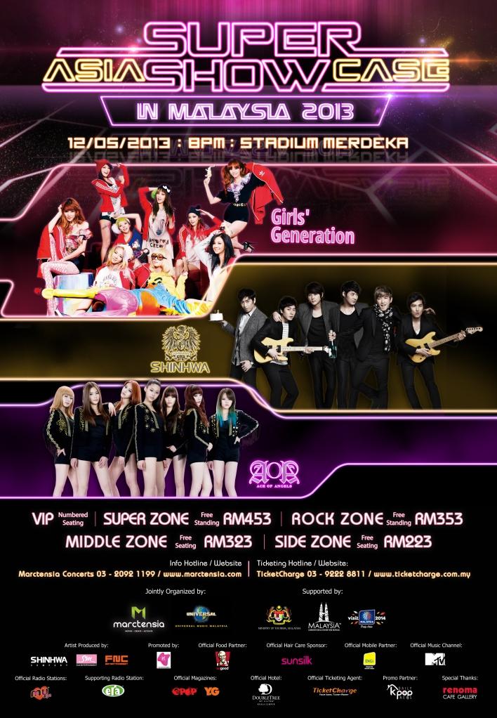M'SIA] 2013 Asia Super Showcase in Malaysia - (x)clusive☆