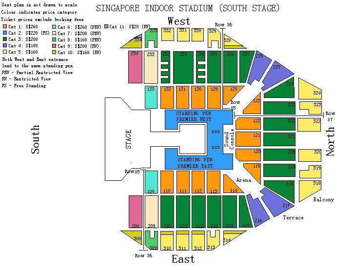 OOAK GD SG Seating Plan