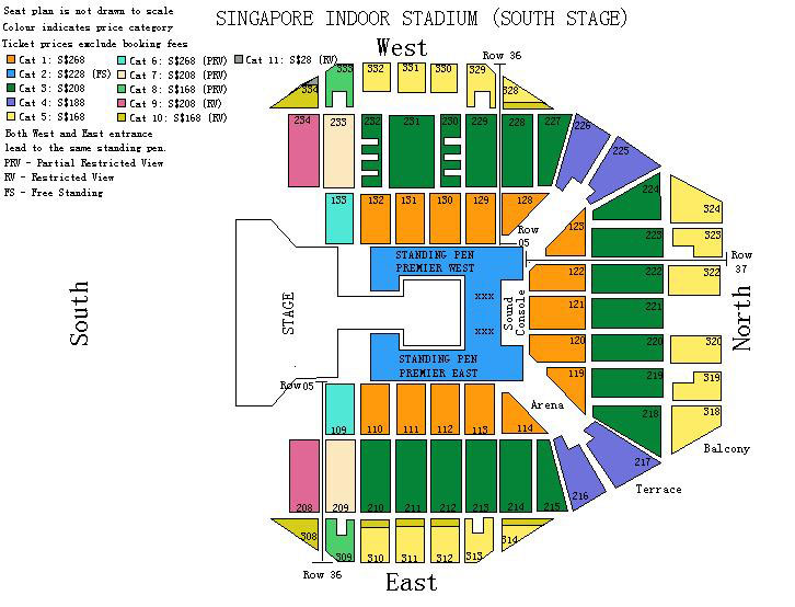 OOAK GD SG Seating Plan