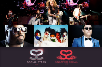 Party at the Inaugural Social Star Awards with PSY, Blush, Aerosmith, Carly Rae Jepsen, SkyBlu and CeeLo Green!