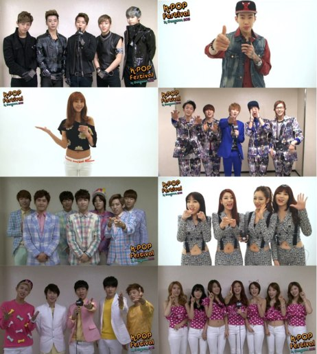 K-POP Festival in Gangwon: Greetings