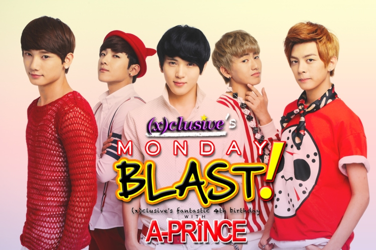 (x)clusive's Monday Blast! featuring: A-PRINCE