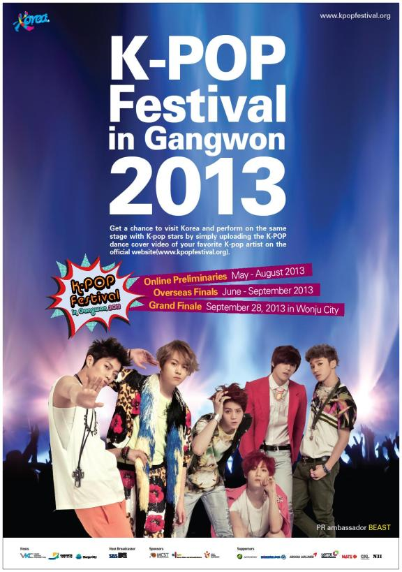K-Pop Festival in Gangwon 2013