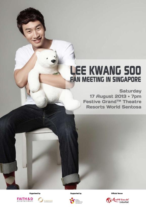 Lee Kwang Soo Fan Meeting In Singapore_Poster