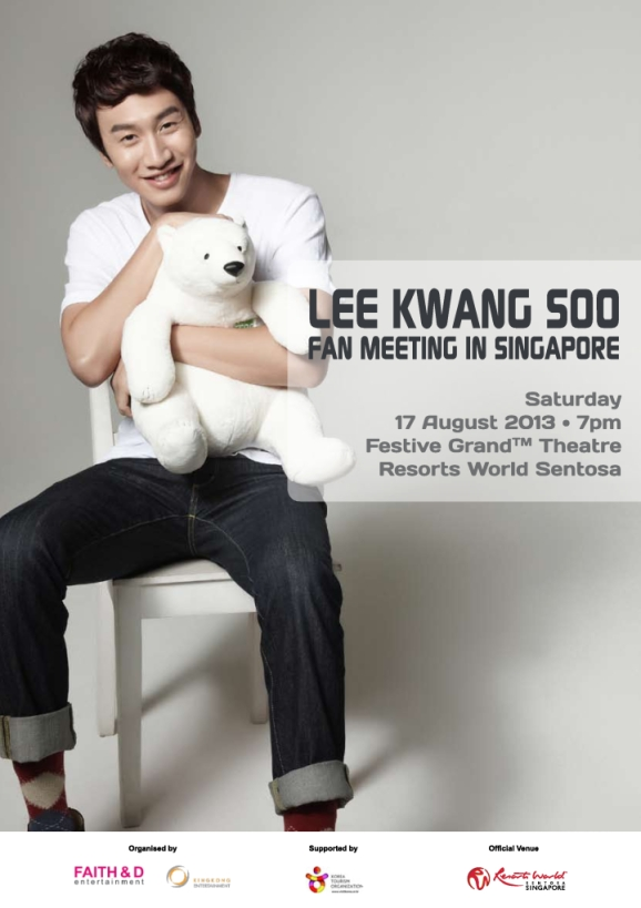 Lee Kwang Soo Fan Meeting In Singapore_Poster
