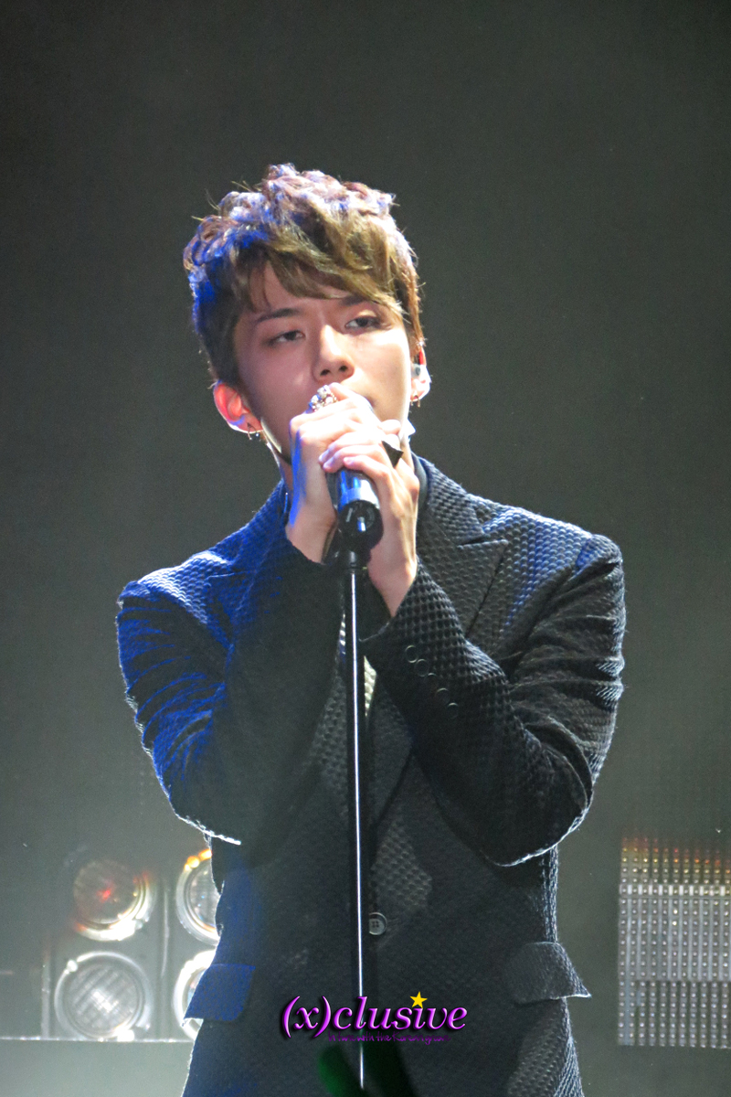 (x)clusive!: B.A.P Live On Earth Concert in New York ... Dougie Dance