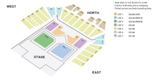 Infinite One Great Step World Tour in Singapore Concert Seating Plan