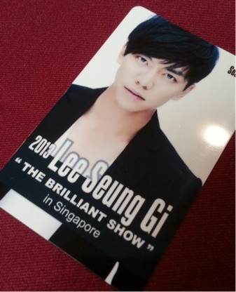 leeseunggi ticket
