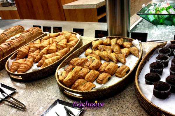 The Plaza - Breakfast: Croissants