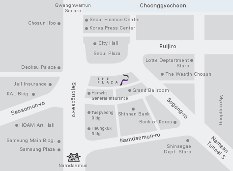 The Plaza Hotel Map