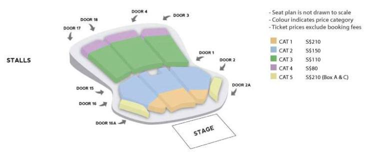 KKB Seating Plan