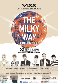 [M'SIA] VIXX First Global Showcase 2013 'The Milky Way' in Kuala Lumpur