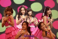 (x)clusive!: A-Pink brings happiness to Pink Pandas and says NoNoNo sadness at Vizit Korea 2013!