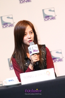 Song Ji Hyo (Photo credits to ONE)