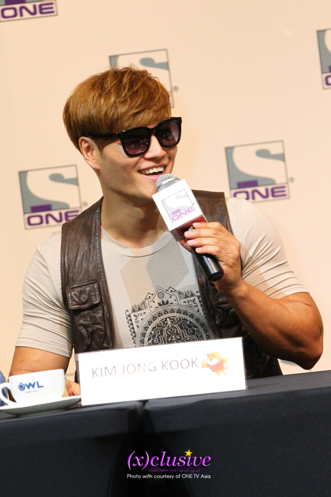 Kim Jong Kook (Photo credits to ONE)