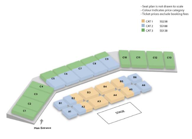 Kim Soo Hyun FM in SG Seating Plan - SGXCLUSIVE
