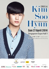 2014 Kim Soo Hyun Asia Tour 1st Memories in Singapore