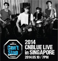 2014 CNBLUE Live Can't Stop in Singapore