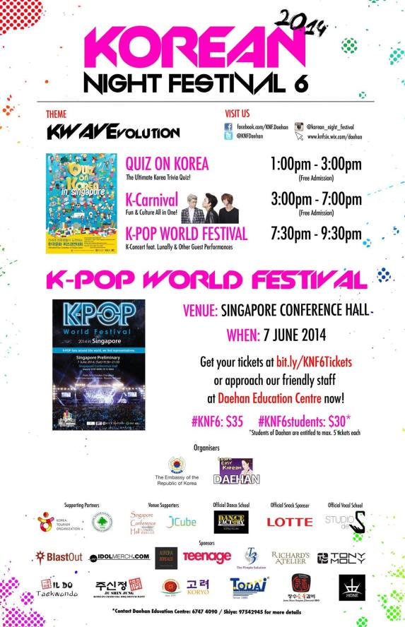 6th Korean Night Festival sgXCLUSIVE