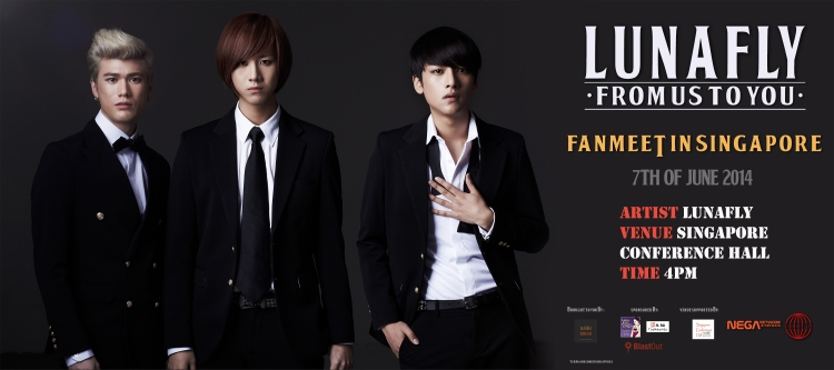Lunafly From Us To You Fanmeeting in Singapore