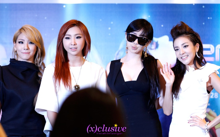 2NE1 Singapore Press Conference sgXCLUSIVE