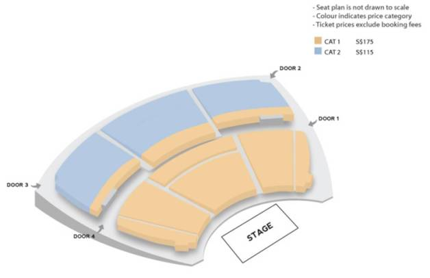 2014 LEE HONGGI'S PROPOSAL IN SINGAPORE Seating Plan SGXCLUSIVE