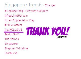 #sgXCLUSIVE Trend