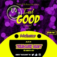 (x)clusive #FEELGOODEVENT Giveaway #3: TREASURE HUNT!