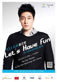So Ji Sub – Let's Have Fun in Singapore 2014 Fanmeet and Open Press Conference
