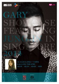 Gary Showcase in Singapore 2014 (feat. Jung-In)
