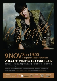 Lee Minho Global Tour 2014 [Re: Minho] Singapore [cancelled]
