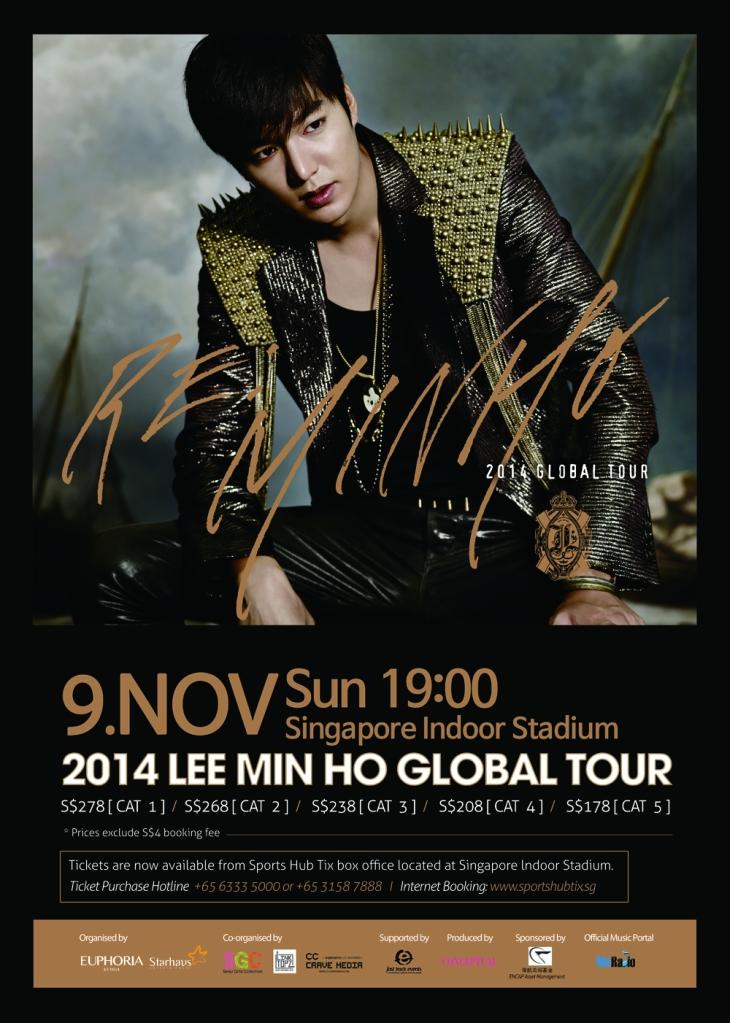 Lee Minho Global Tour  sgXCLUSIVE