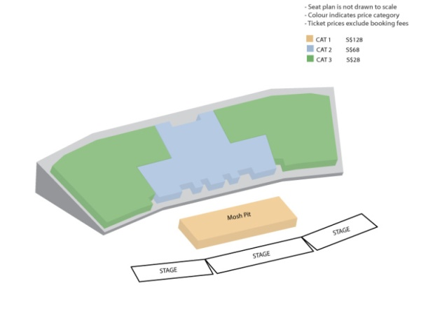 Celebrate SG50 Seating Plan sgXCLUSIVE