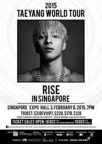 2015 Taeyang World Tour [RISE] in Singapore