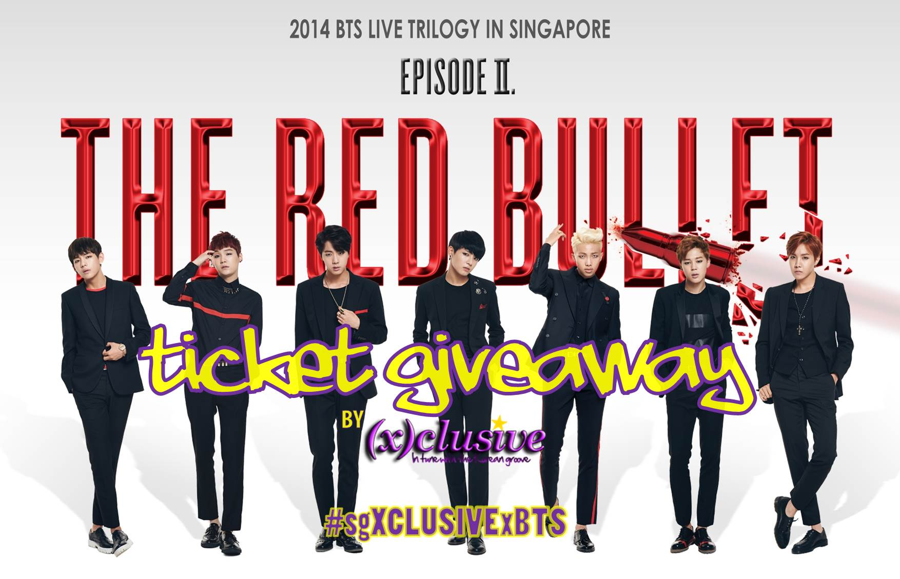 WIN! Tickets to catch BTS at The Red Bullet in Singapore - (x)clusive☆