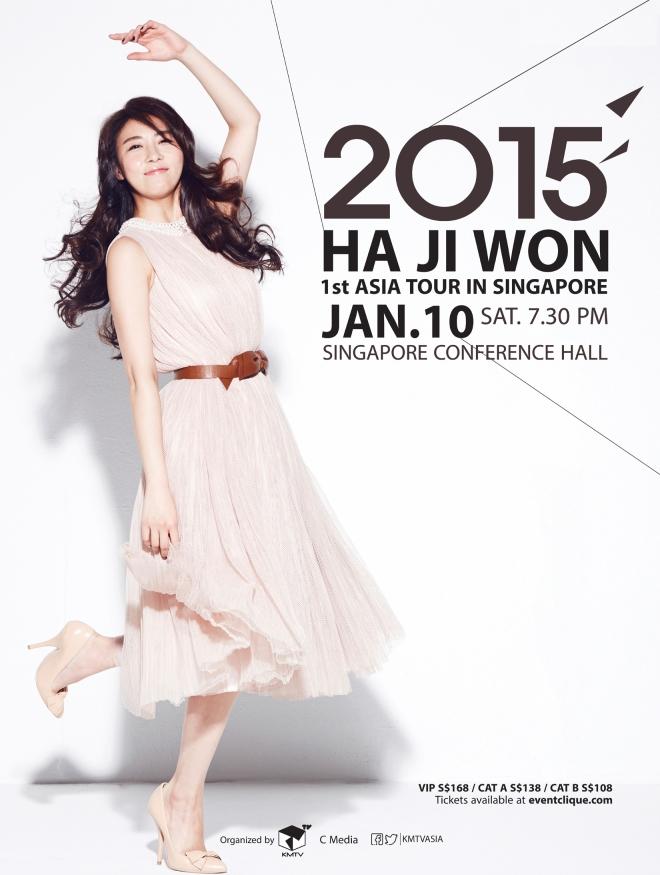 Ha Ji Won Singapore Fan Meeting 2015