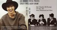 Christmas comes early with LEE MINHO X ROYAL PIRATES CRAZY X'MAS LUCKY DRAW