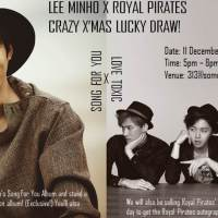 Christmas comes early with LEE MINHO X ROYAL PIRATES CRAZY X'MAS LUCKYDRAW